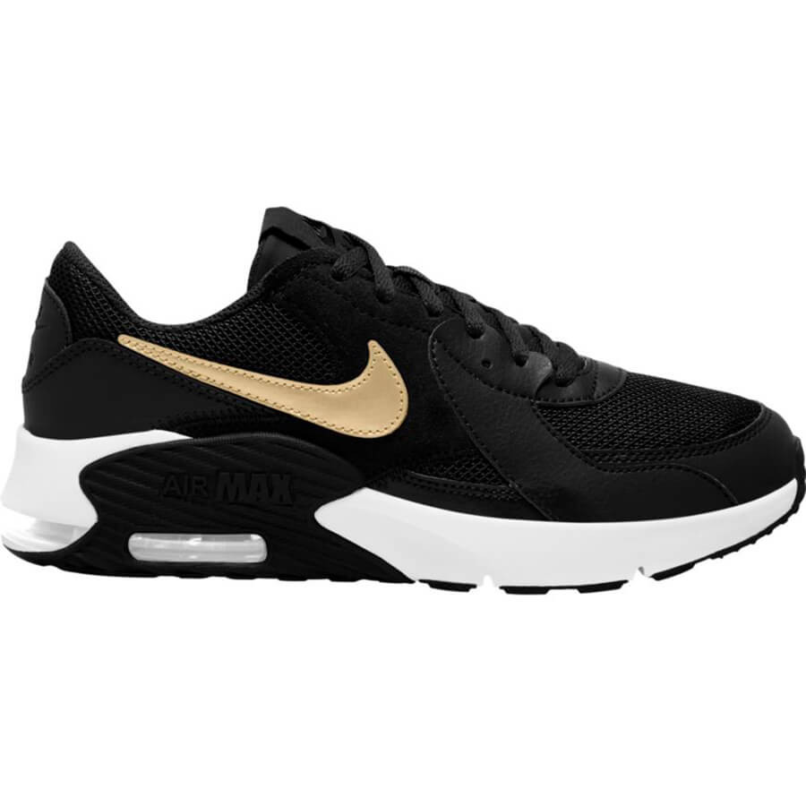 DEPORTIVO AIR MAX EXCEE BIG KIDS  NEGRO/ORO