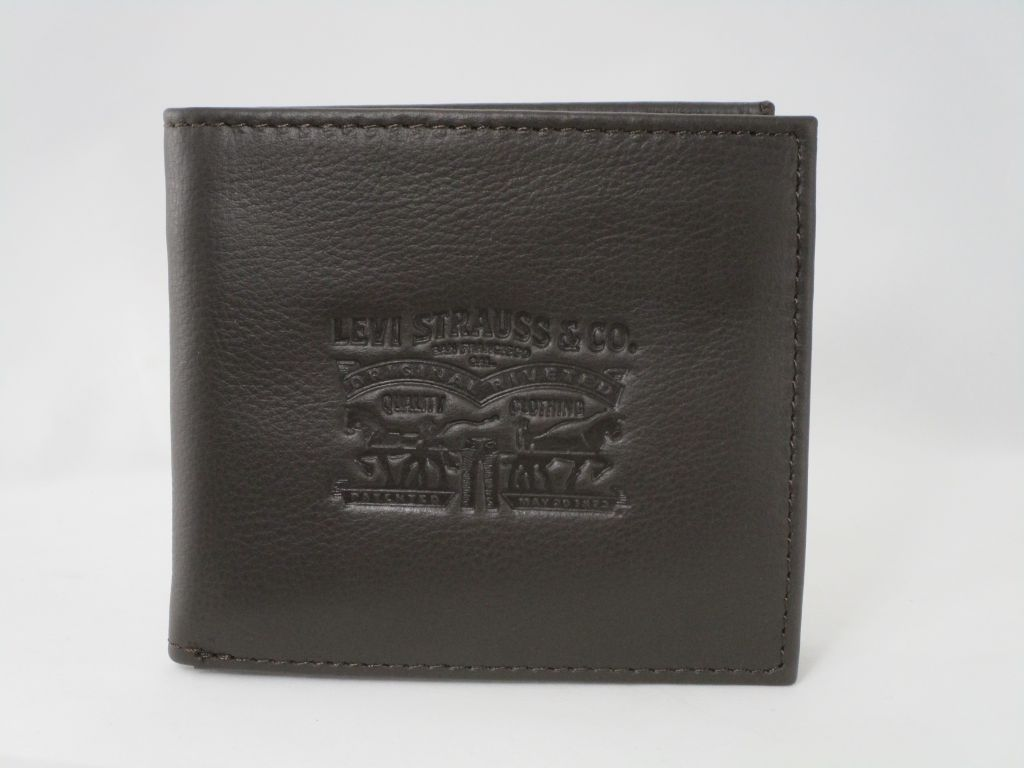 CARTERA VINTAGE TWO HORSE BIFOLD COIN WALLET