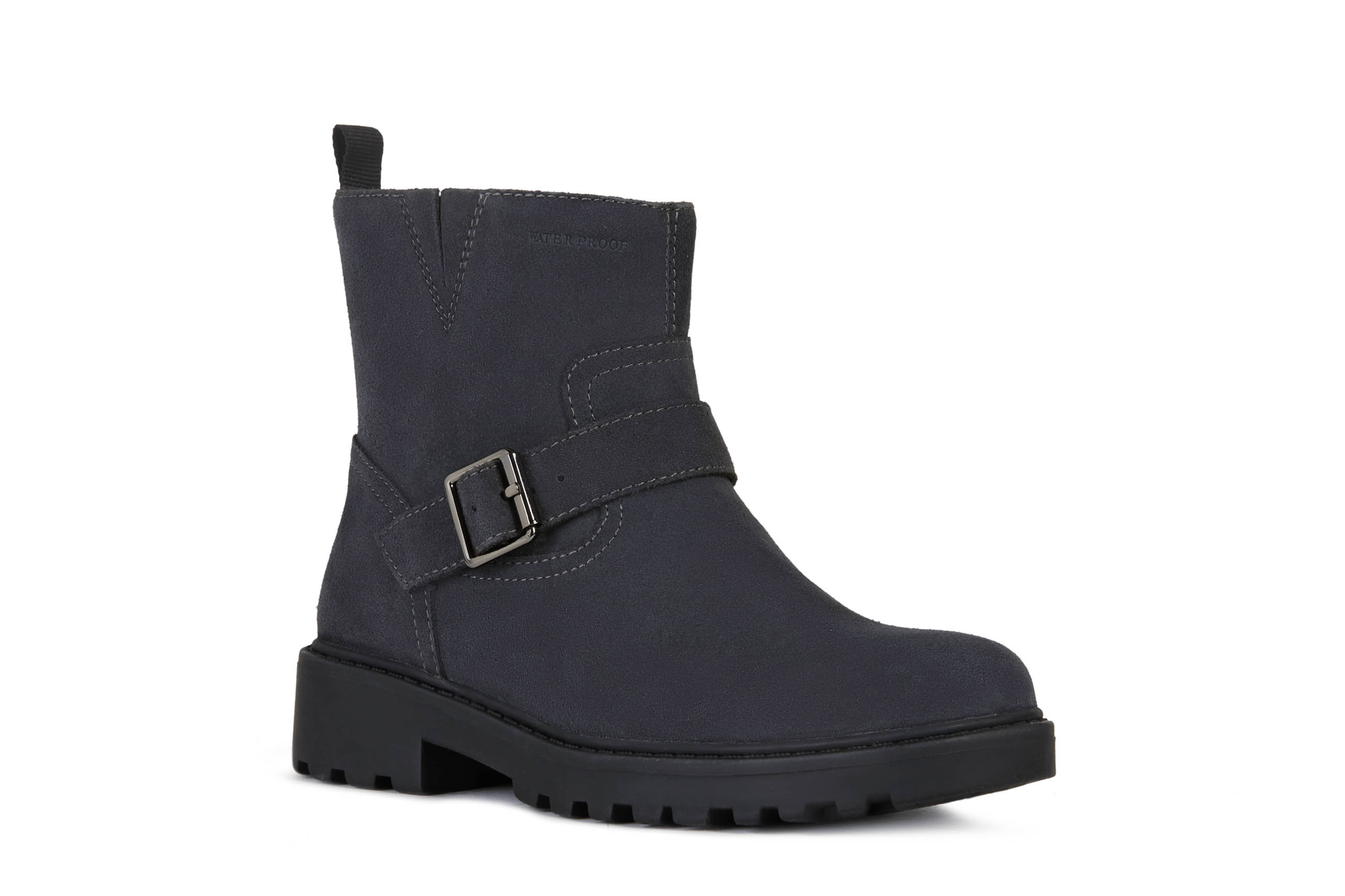 BOTA  WATERPROOF J CASEY GIRL WPF B. PIEL/SINTETICO DARK GREY