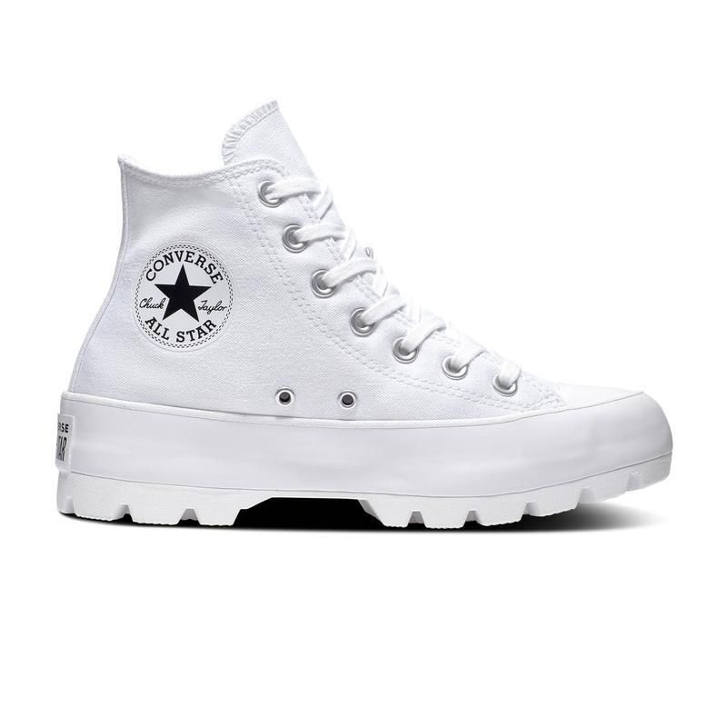 BOTA LONA CHUCK TAYLOR ALL STAR LUGGED HI WOS T/O BLANCO