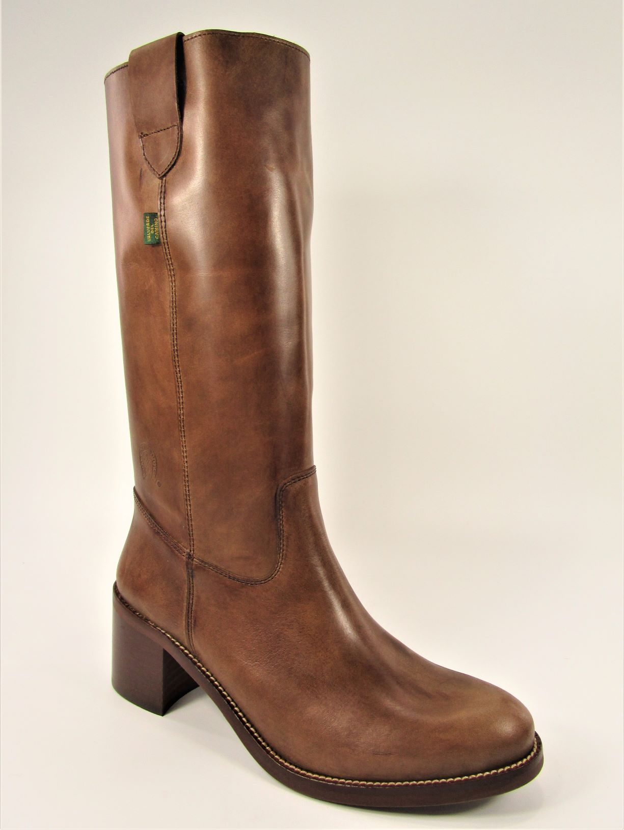 BOTA CAMPERA  TEXAS TAUPE TACON MEDIO
