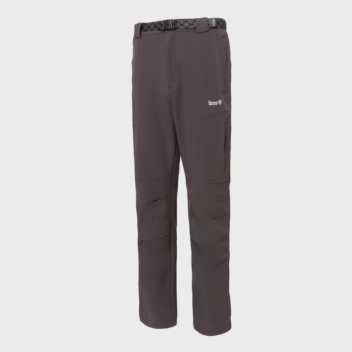 PANTALON LARGO CORTAVIENTOS  92% POLYESTER 8% ELASTANE 240-250 GR RELAXED FIT WATER REPELENT MOUNT-STRETCH DRY WHEATHER PROTECTION DARK GREY