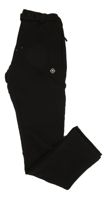 PANTALON LARGO CHAMONIX M FW 92% POLYESTER 8% ELASTANE 240-250 GR RELAXED FIT WATER REPELENT MOUNT-STRETCH DRY WHEATHER PROTECTION BLACK