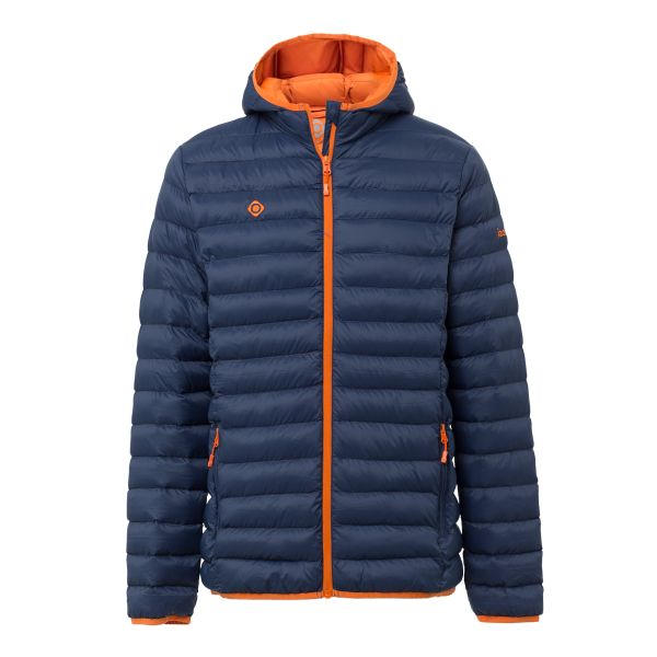 CHAQUETA MOUNT-LOFT PADDED POLYAMIDE 35 GR BLUEMOON/ORANGE