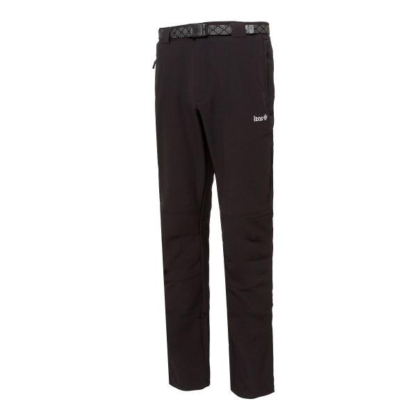 PANTALON MOUNT STRETCH POLYESTER/ELASTANE  230 GR RELAXED FIT  BLACK