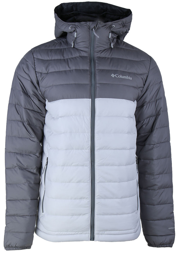 CHAQUETA CAPUCHA POWDER LITE™ HOODED JACKET FEATURES Omni-HEAT™ FABRICS 100% polyester GREY