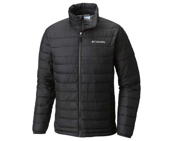 CHAQUETA POWDER LITE™ JACKET FEATURES Omni-HEAT™ FABRICS 100% polyester BLACK