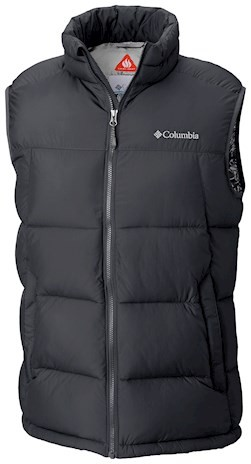 CHALECO PIKE LAKE™ VEST FEATURES Omni-HEAT™ FABRICS 100% polyester BLACK