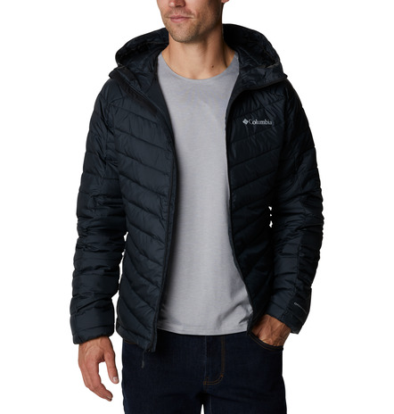 HORIZON EXPLORER™HOODED JACKET FEATURES Omni-HEAT™ 100% Polyester Black