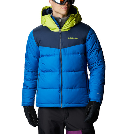 JACKET ICELINE RIDGE™ FEATURES Omni-HEAT™ FABRICS NAVY