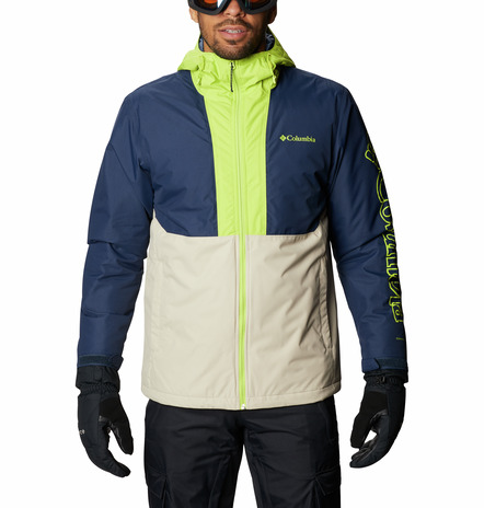 CHAQUETA CAPUCHA TIMBERTURNER™ FEATURES Omni-TECH™ waterproof Omni-HEAT™ FABRICS 100% nylon. 3