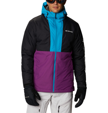 CHAQUETA CAPUCHA TIMBERTURNER™ FEATURES Omni-TECH™ waterproof Omni-HEAT™ FABRICS 100% nylon Black Blue