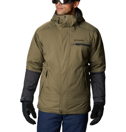 CHAQUETA CAPUCHA VALLEY POINT™ JACKET FEATURES Omni-TECH™ waterproof Omni-HEAT™ FABRICS 100% Polyester GREEN