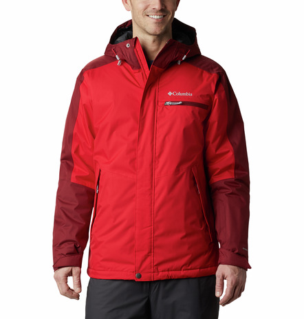 CHAQUETA CAPUCHA VALLEY POINT™ JACKET FEATURES Omni-TECH™ waterproof Omni-HEAT™ FABRICS 100% Polyester RED