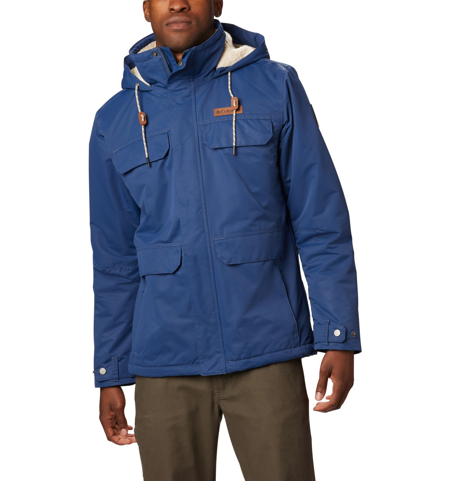 CHAQUETA SOUTH CANYON 80G MICROTEMP XF II 100% POLYESTER Omni-TECH WATERPROOF BREATHABLE DARK MOUNTAIN