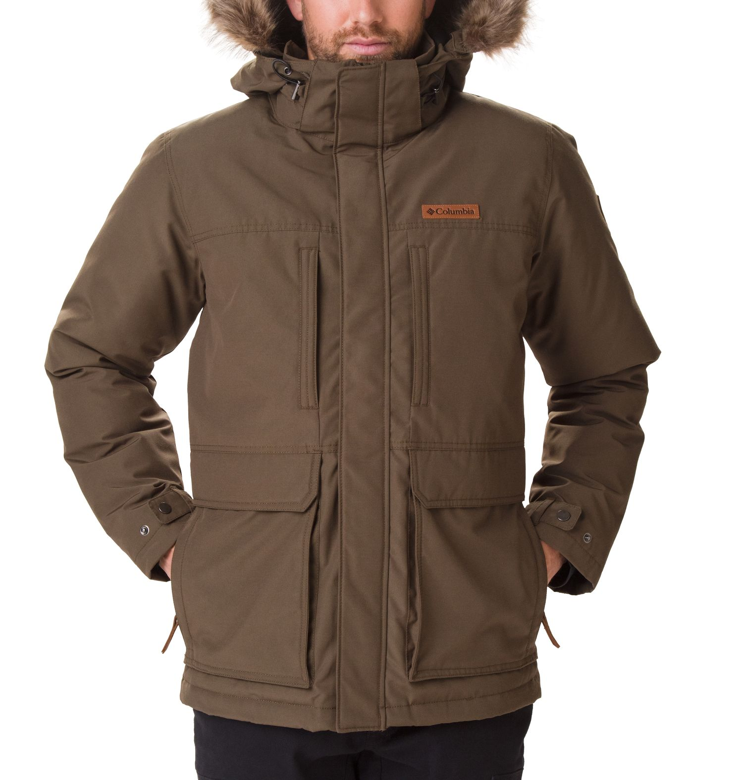 CHAQUETON MARQUAM PEAK 85% POLYESTER 15% COTTON WATER RESISTANT OLIVE GREEN