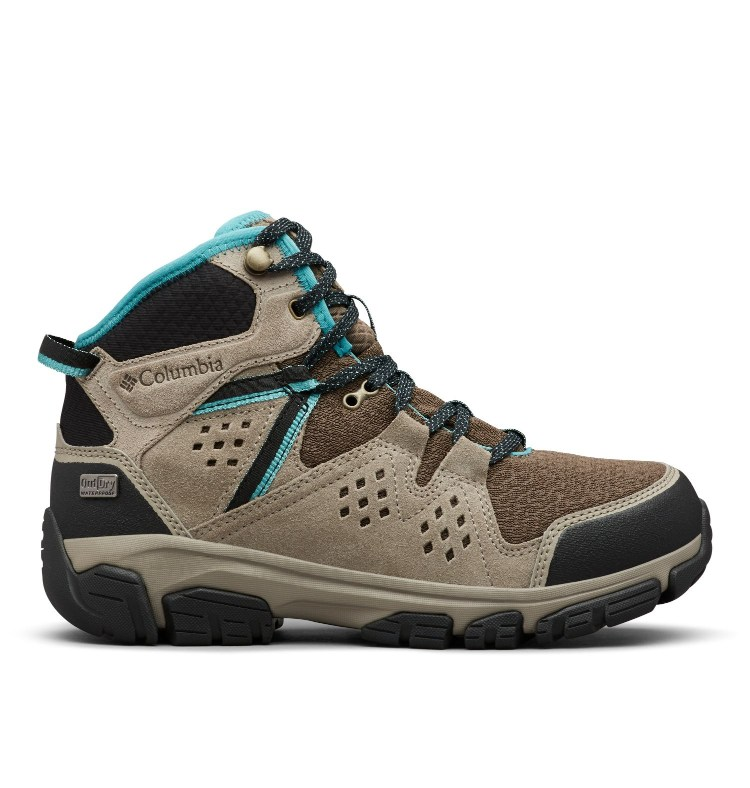 BOTA  ISOTERRA MID OUTDRY UPPER OutDry  MIDSOLE TECHLITE OUTSOLE Omni-GRIP MUD/TEAL