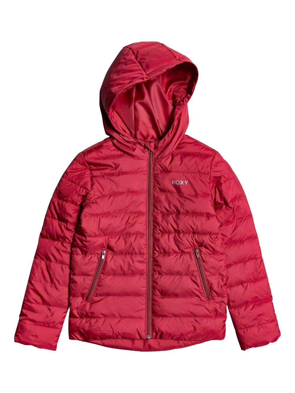 CHAQUETA  ACOLCHADA CAPUCHA  NIGHT VOYAGE HOODED PUFFER 100% POLYESTER DEEP CLARET