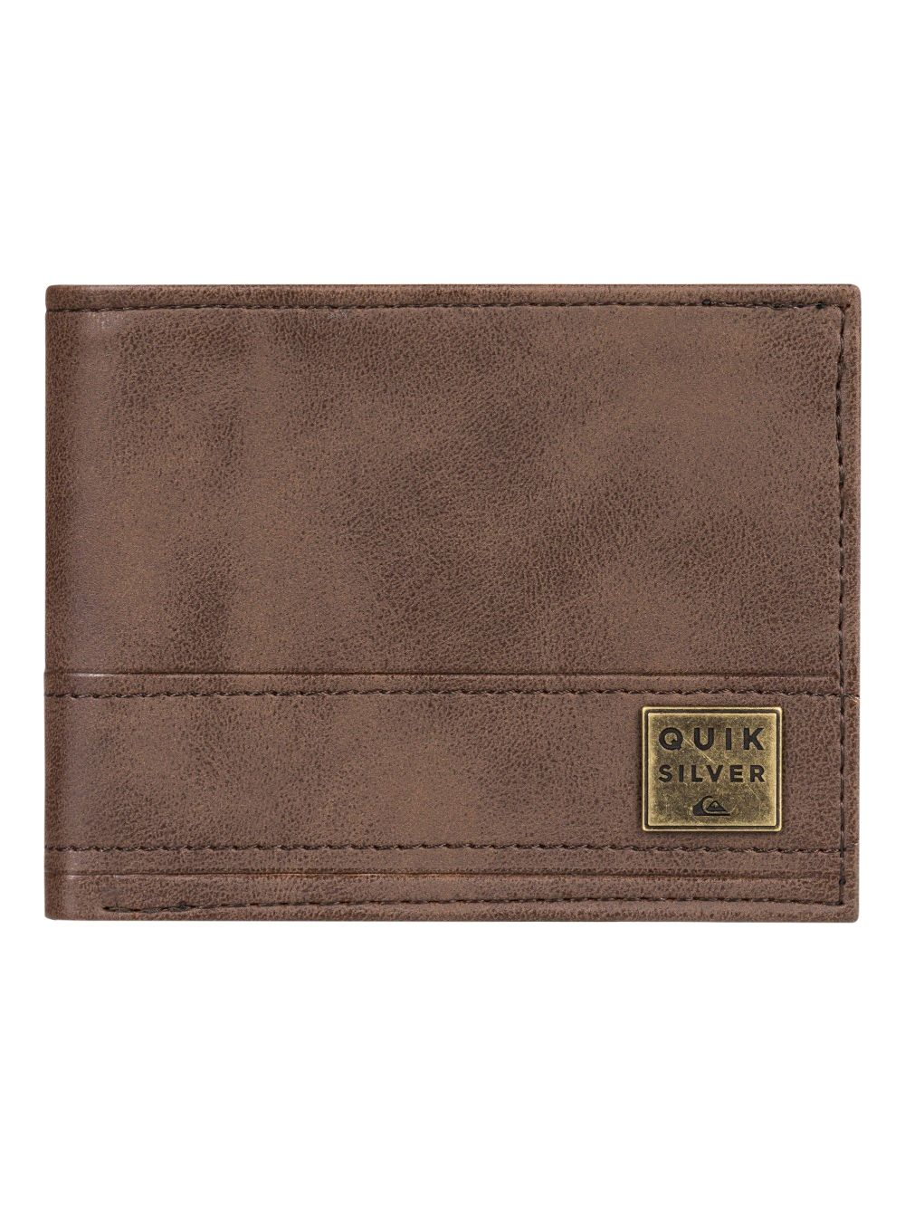 CARTERA NEW STITCHY WALLET POLYURETHANE CHOCOLATE BROWN