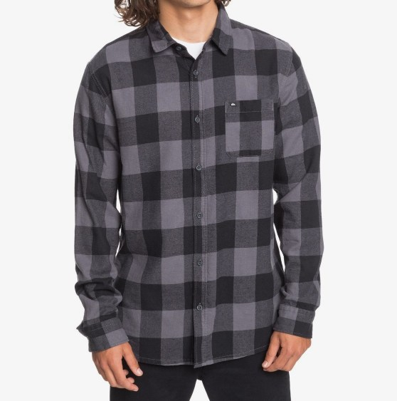 CAMISA MANGA LARGA MOTHERFLY FLANNEL REGULAR FIT ALGODON IRONGATE MOTHERFLY