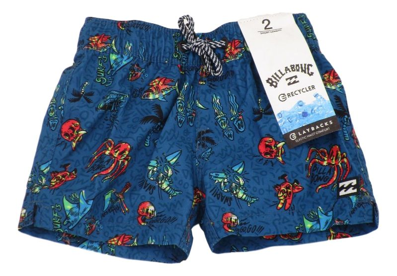 BAÑADOR UNDER WATER LB BOY POLYESTER BLUE