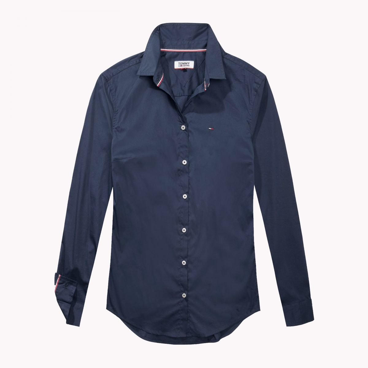 CAMISA MANGA LARGA TJW ORIGINAL STRETCH SHIRT DRESS BLUES