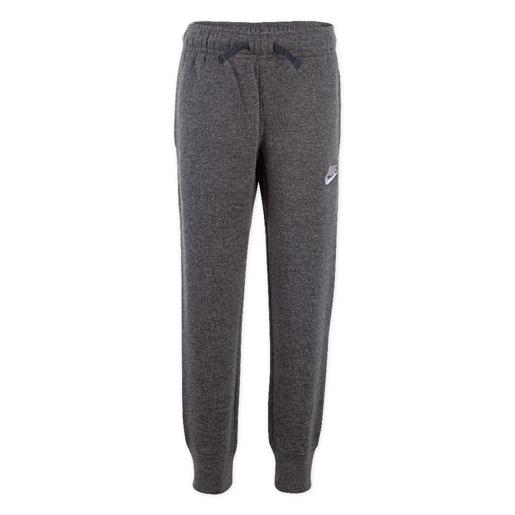 PANTALON LARGO CLUB FLEECE RIB CUFF PANT GRIS