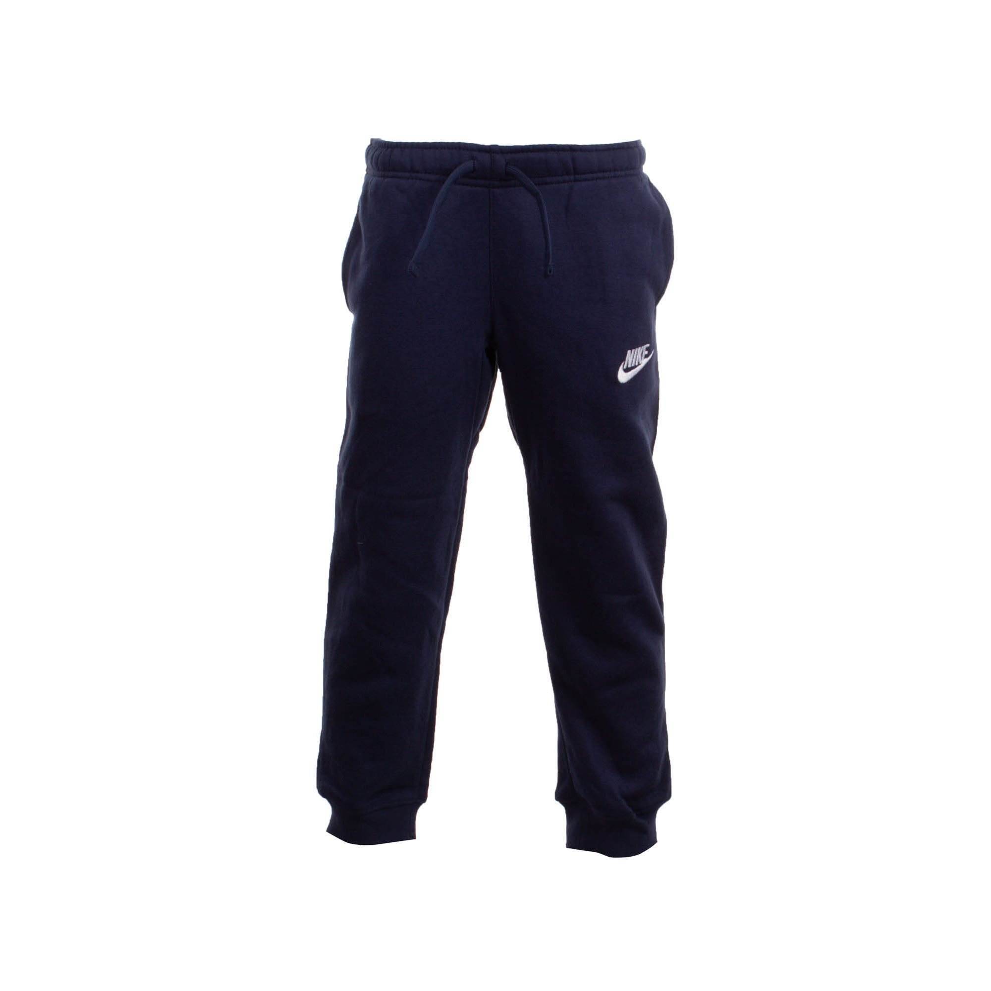 PANTALON LARGO CLUB FLEECE RIB CUFF PANT MARINO